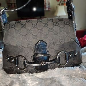Gucci Bags - Authentic Gucci mini Horsebit Handbag